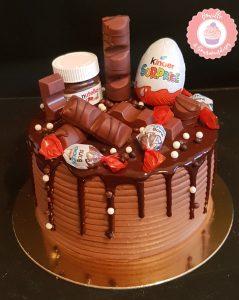 Layercake au chocolat Kinder